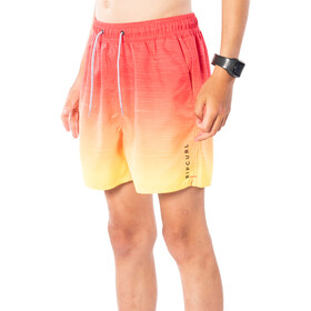 Rip Curl Laze Fade Volley Boardshorts Boys, red